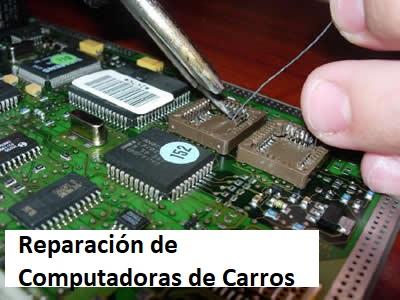 Reparación de computadoras de carros