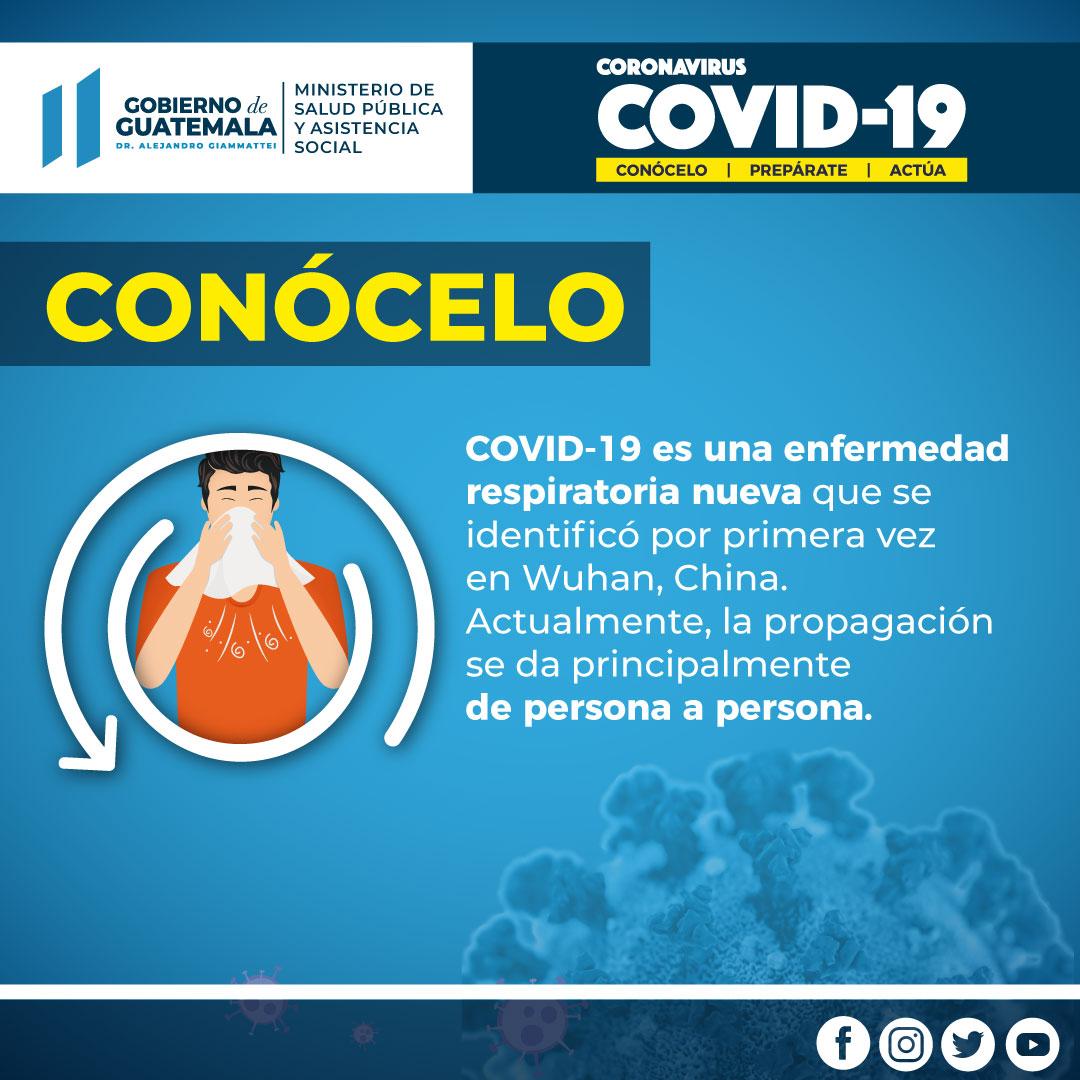 Conoce Más sobre el Coronavirus
