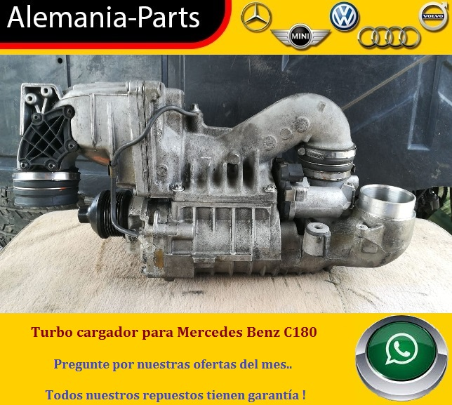 Turbo cargador para Mercedes Benz C180