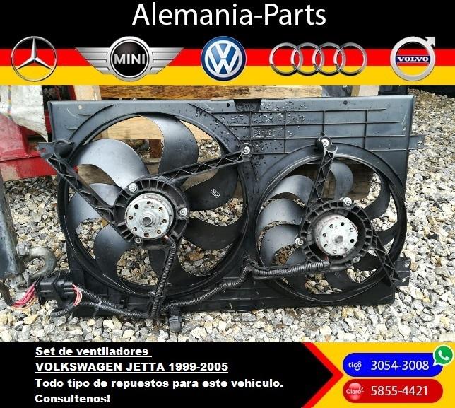 Set de ventiladores Volkswagen Jetta