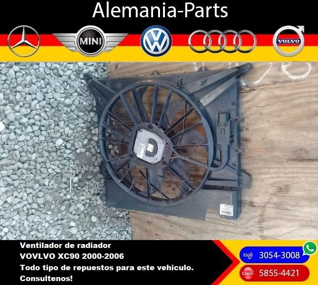 Ventilador para radiador Volvo XC90