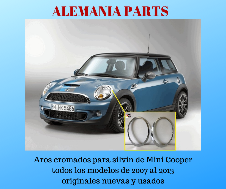 Aros cromados para Mini Cooper