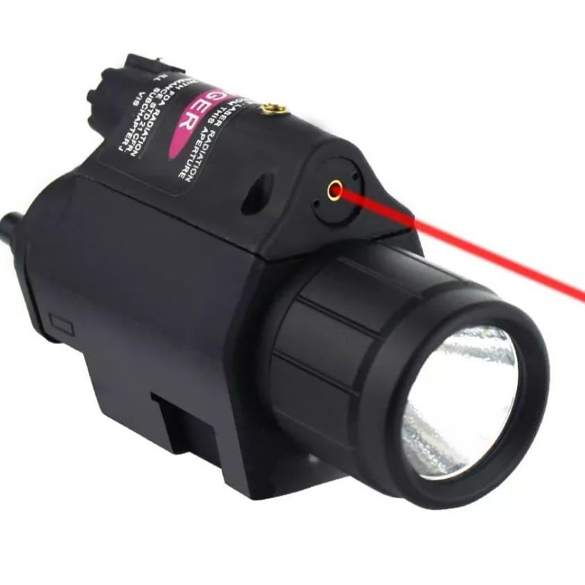 Lámpara LED y láser