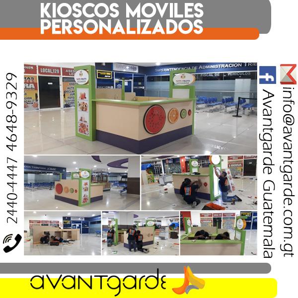Kioscos Móviles personalizados