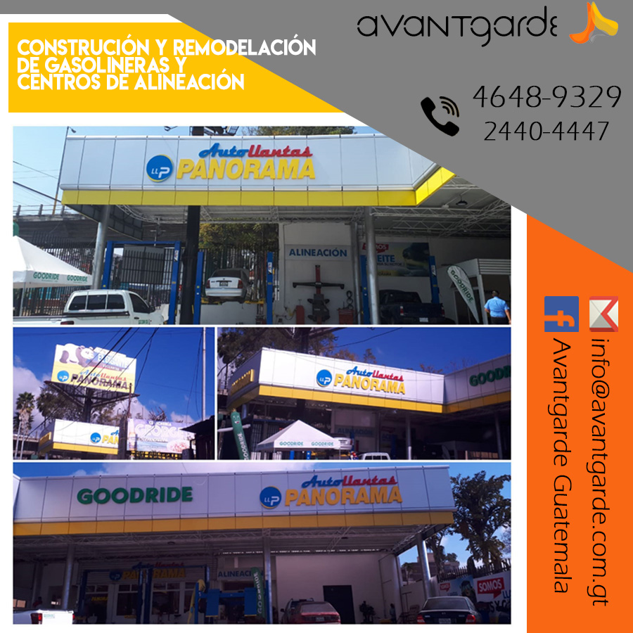 Construcción y remodelación de Gasolineras
