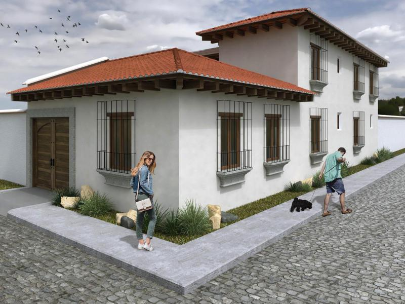 CityMax Antigua vende casa en construcción en Antigua Guatemala