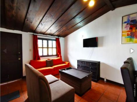 Alquiler de apartamento amplio de 2 habitaciones todo incluido en Antigua Guatemala