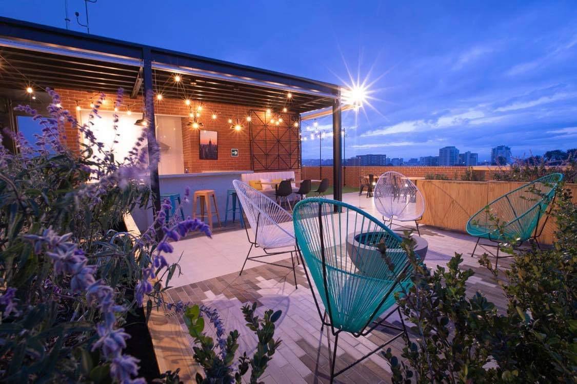 Atractivos apartamentos en zona 14 Ciudad de Guatemala