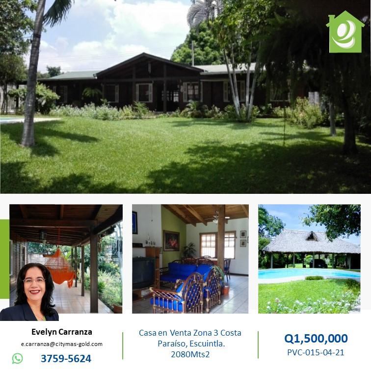 Casa en venta en Escuintla!!!