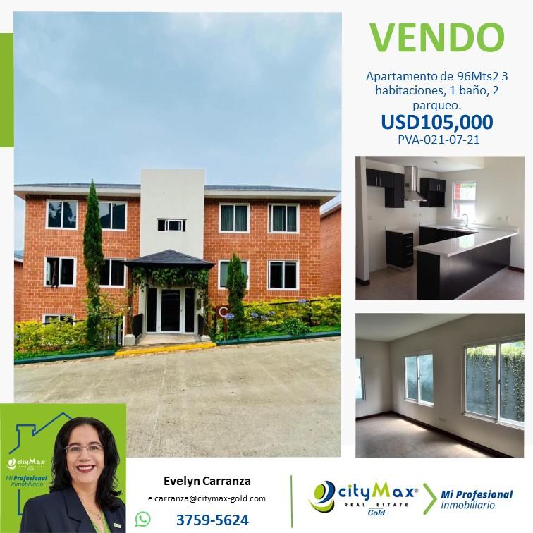 Apartamento en venta en km. 13 Condominio Carretera a El Salvador