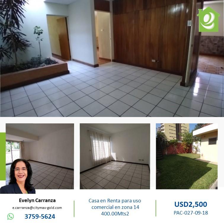 Casa de Uso Comercial en renta zona14