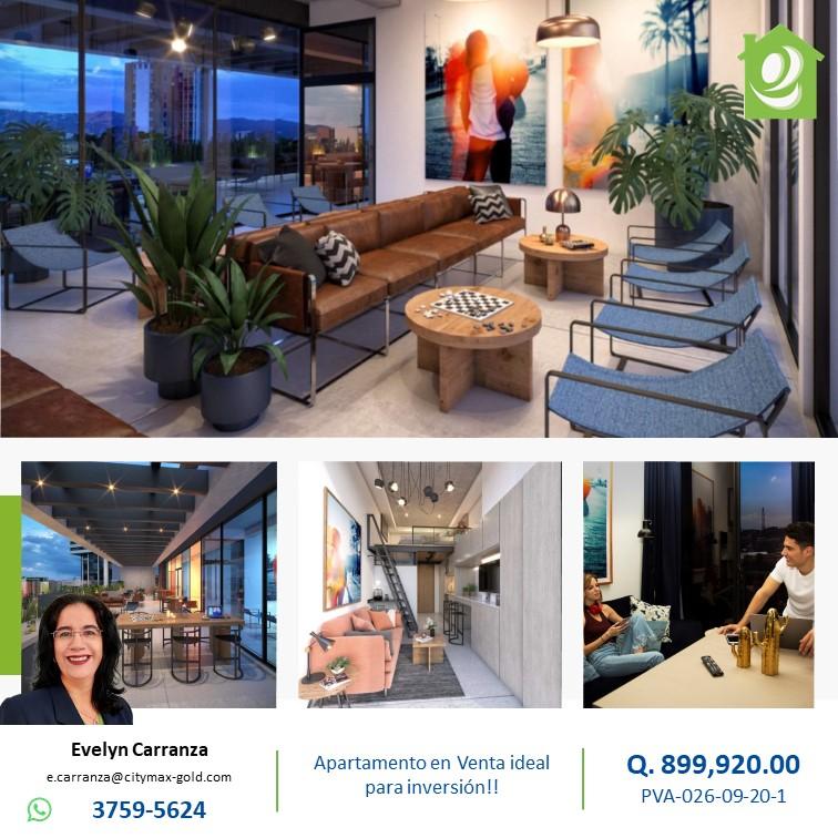 Apartamento en venta zona 4