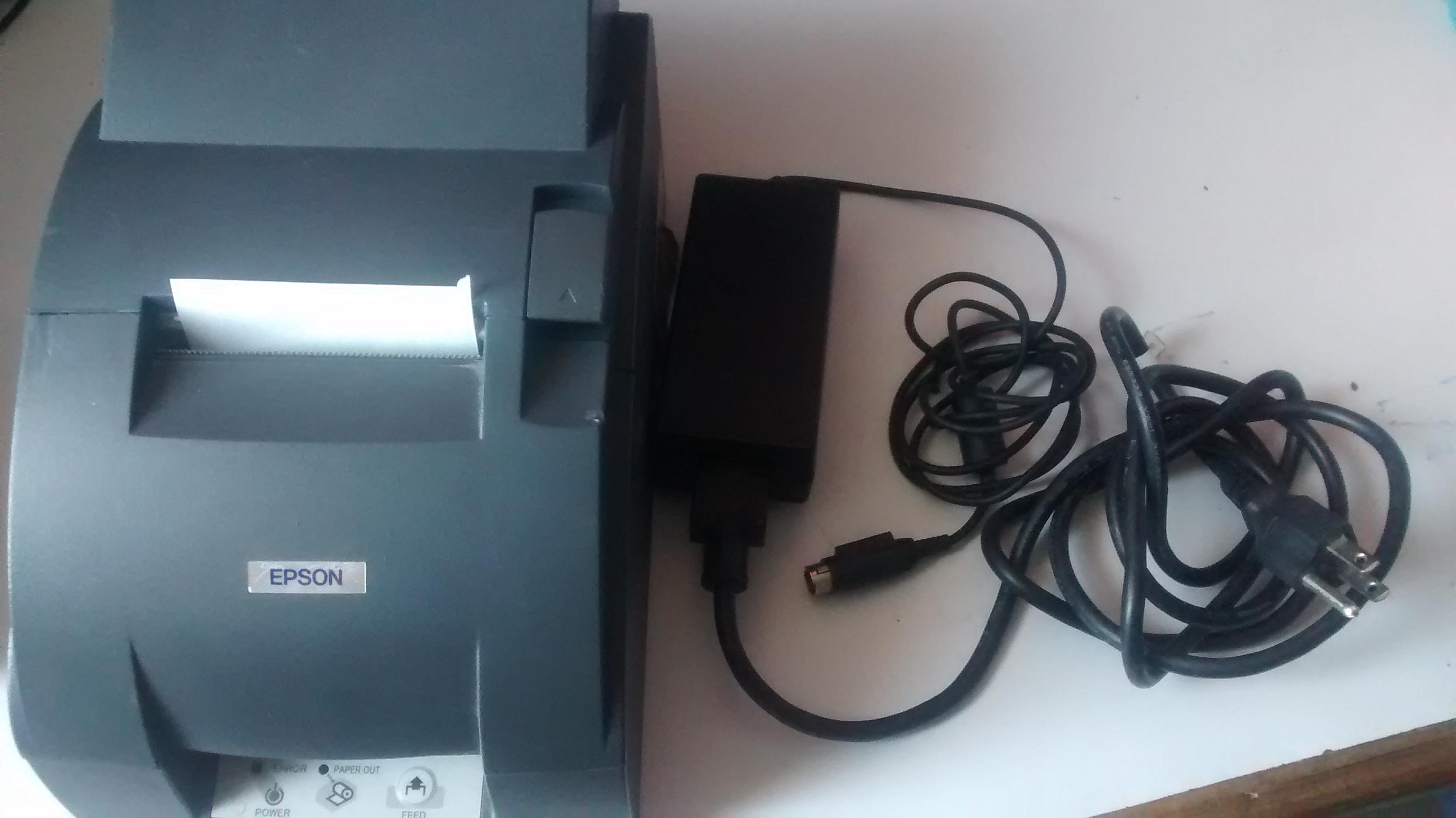 Impresora tmu 220a conexión USB completa
