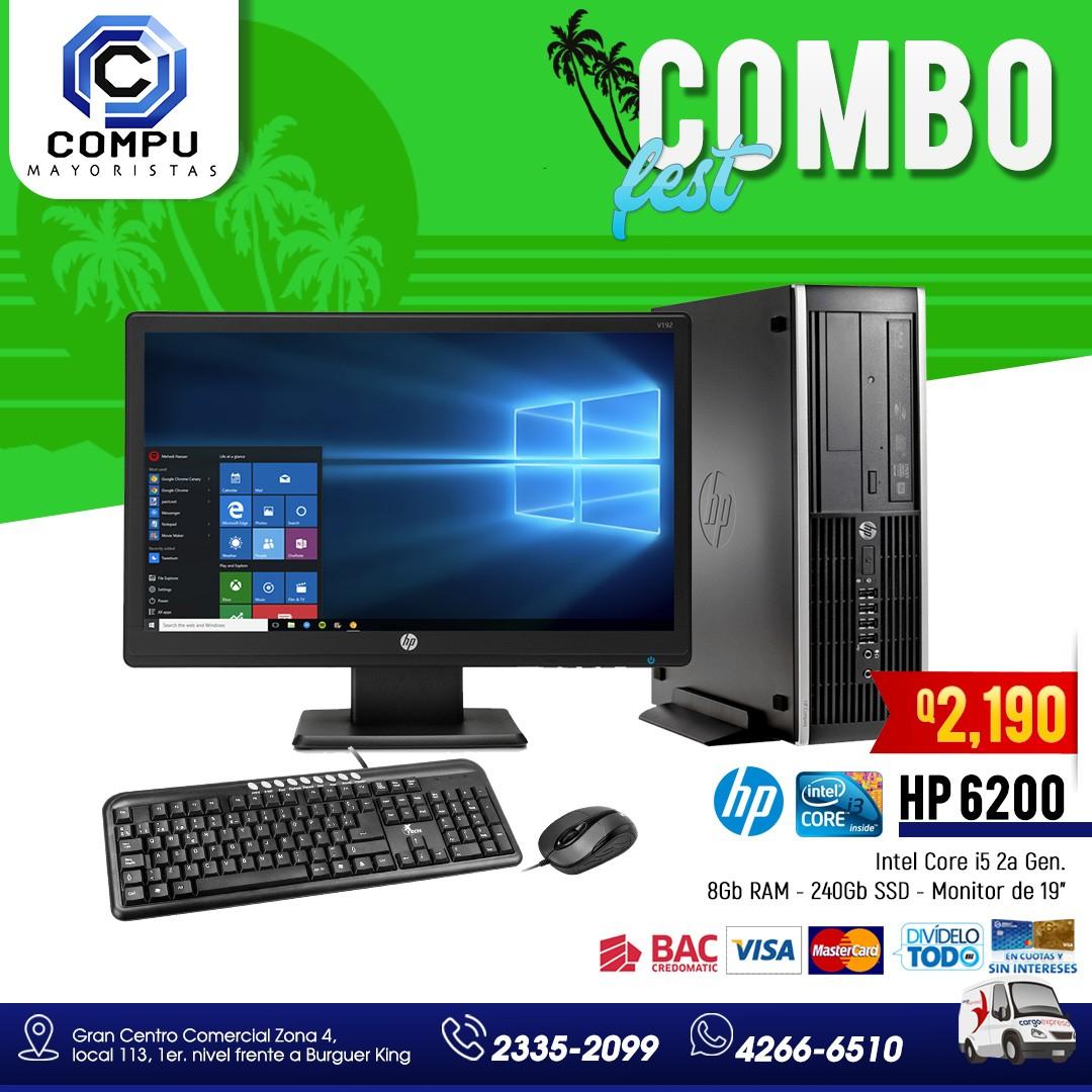 Computadora HP varios modelos disponibles ?Q.2,190.00