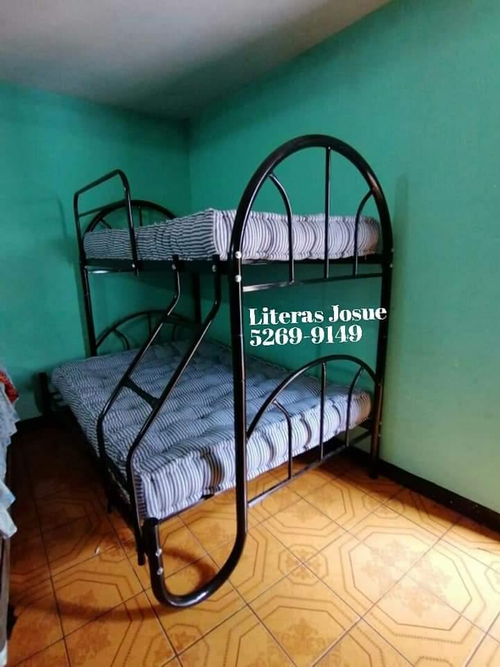 Literas, camas infantiles y columpios