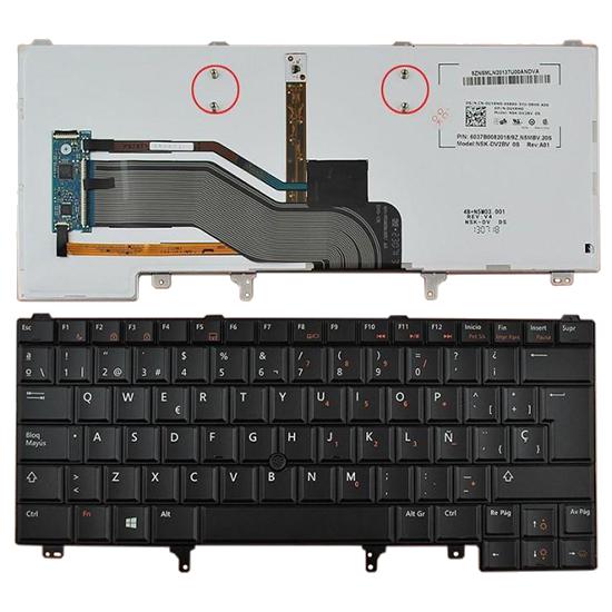 Teclado Dell  Latitude E6320 E6420 Teclado / Español