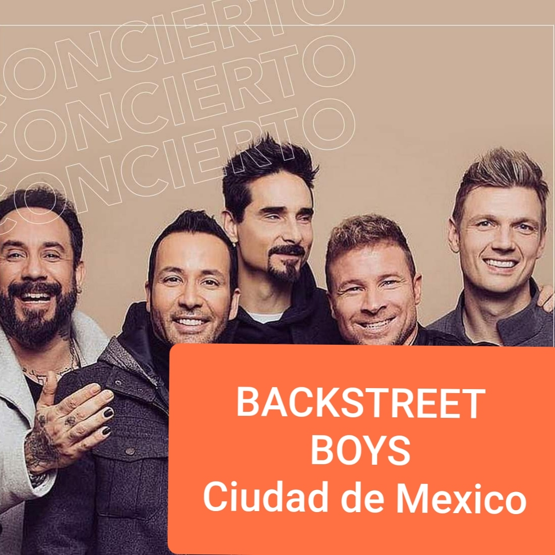 BACKSTREET BOYS En Mexico 20 de Febrero