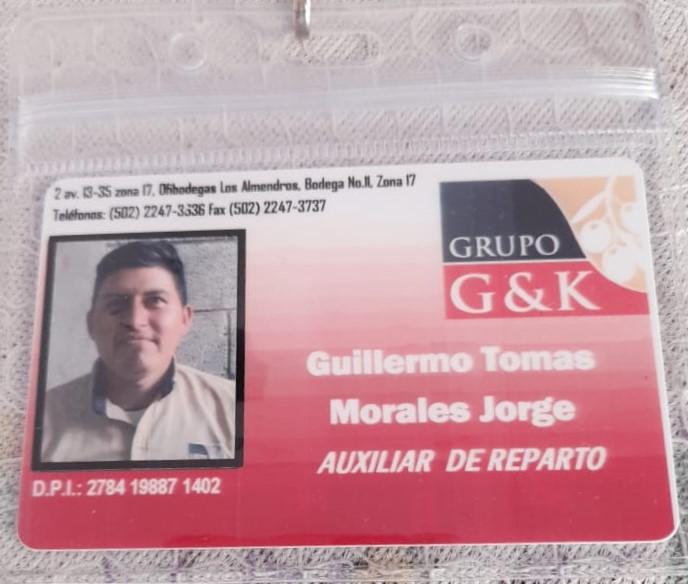 GAFETES/CARNET DE IDENTIFICACIÓN EN GUATEMALA
