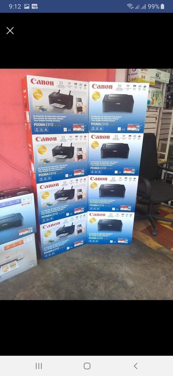 Variedad de impresoras